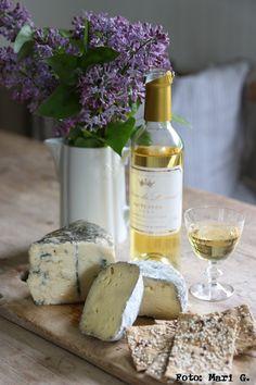 wine & cheese.