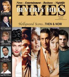 Emmy Issue of Beverly Hills Times Magazine. Also interview with Barbara Eden.