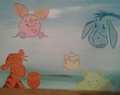 Carla 18 december 2013 December 2013, Winnie The Pooh, Pikachu, Disney Characters, Fictional Characters, Art, Shop Signs, Winnie The Pooh Ears, Kunst
