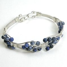 SODALITE: Eliminates fear and guilt better than any other stone; alleviates insomnia; clears up mental confusion and re-establishes inner peace; excellent stone to enhance communication skills; wonderful stone for creative types. Shop Sodalite handcrafted, gemstone jewelry: http://www.stonehinged.com/collections/sodalite-jewelry.