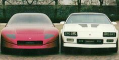 OG |1993 Chevrolet Camaro Mk4 - Project GM80 | Full-size mock-up