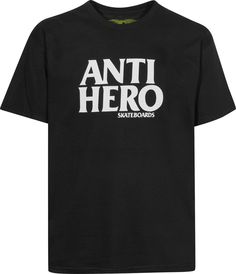 Anti-Hero Blackhero - titus-shop.com  #TShirt #MenClothing #titus #titusskateshop