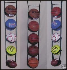 Ballganizer® 5 Garage Classroom Ball Storage Organizer