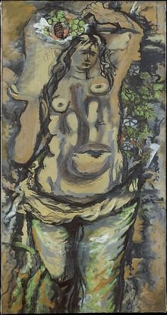 Georges Braque (French, Argenteuil 1882–1963 Paris) Woman Carrying a Basket of Fruit