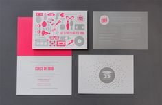 Tags: Save the Date, Invitations, Print -- I like the use of the two main colors with different focuses on each page.