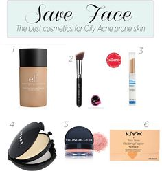 Save Face: the best cosmetics for oil/acne prone skin!
