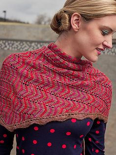 Ravelry: Project Gallery for Teresa Shawl pattern by Nikki Wagner