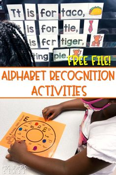 Engaging alphabet recognition activities for kindergarten! Your students will have fun with these activities while they practice letters and sounds. Plus, an awesome assessment tool, too! Click the image to download a FREE FILE!