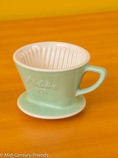 Vintage Kaffeefilter - Melitta Minden Kaffeefilter 101, mint, Vintage - ein Designerstück von Mid-Century-Friends bei DaWanda