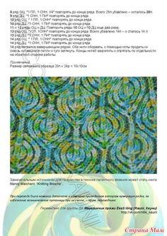 МОДНЫЕ ШАПОЧКИ с описанием, схемами(бриошь, овечки) - Вязание - Страна Мам