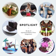 My Top 8 Health and Fitness Instagrammers.