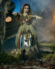 Underwater Zombie Girl Costume