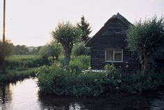 Thatched cabin on The River Test, England. Contributed by...