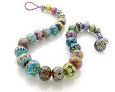 Stephanie Sersich Lampwork Necklace July 2013