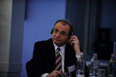 Gabriel A. Brennauer, a Német-Magyar Ipari-és Kereskedelmi Kamara ügyvezető igazgatója a CSR Hungary Summiton