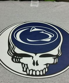 2e5dfd29 Grateful Dead Penn State inspired Steal Your Face tshirt LRG Lions  Longsleeve #Gildan #EmbellishedTee