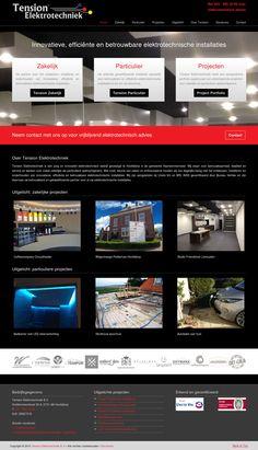 Responsive WordPress Website voor Tension Elektrotechniek te Hoofddorp http://www.tensionelektrotechniek.nl gemaakt door www.boostingyourbrand.nl
