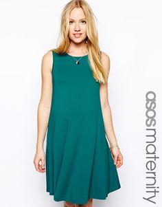 ASOS Maternity Sleeveless Swing Dress
