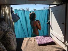 Campingdusche