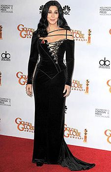CHER / BOB MACKIE  Gown Worn by Cher to the  Golden Globes in 2010!