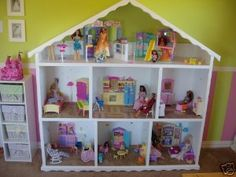 DIY Full Size Barbie Doll House Plan Kit Build Your Own