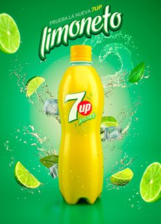 7Up Limoneto Soda Ad