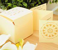 Invitacion de boda en caja