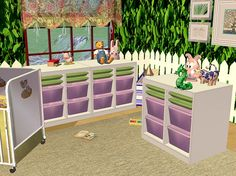 Sims 2 - Ikea Trofast Storage - Downloads - BPS Community