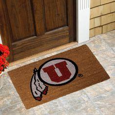 Utah Utes Logo Coir Door Mat - $24.99