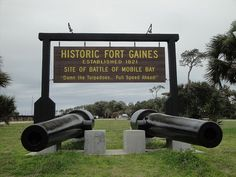 Fort Gaines @ Dauphin Island-this place is amazing. (check your pictures that you take of this place. I hear its haunted. Alabama Baby, Sweet Home Alabama, Vacation Memories, Vacation Spots, Dauphin Island Sea Lab, Fort Morgan, Mobile Alabama, Orange Beach, Down South