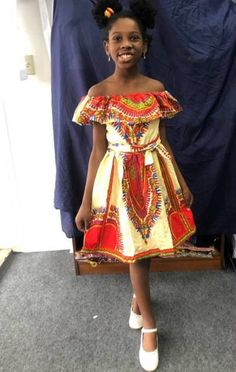 Dresses Kids Girl, African Dresses For Kids, Kids Dress Wear, African Wear Dresses, Ankara Dress Styles, Latest African Fashion Dresses, Kids Outfits Girls, African Attire, Kids Wear