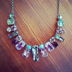 Seriously, how stunning is this Sorrelli necklace? @Sorrelli Jewelry #sorrelli #necklace  #lavender #rhapsody