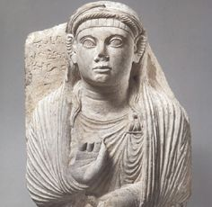 Gravestone with a bust of a women. Palmyra (Syria), 2nd century A.D.