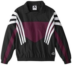 Palace Skateboards X Adidas Originals Collaborate On New Retro Line Retro Outfits, Vintage Outfits, Cool Outfits, Fashion Outfits, Vintage Windbreaker, Windbreaker Jacket, Retro Football Shirts, Crossfit Clothes, Smart Casual Outfit