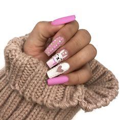 U±as Postizas Francesa - Best Gel Nail Polish, Gel Nails, Flame Nail Art, Coffin Nails Ombre, Different Types Of Nails, Indigo Nails, Star Nails, Nail Candy, Instagram Nails