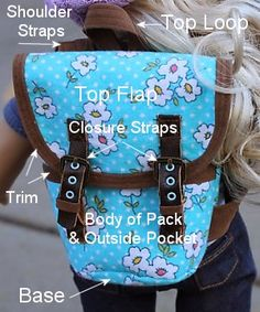 American Girl Doll Pattern - Backpack Sew-along Part 1 | Many Small Friends
