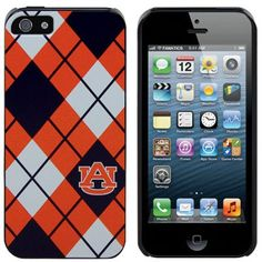 Stocking Stuffer.. Auburn iPhone 5 Argyle Snap-On Case- wish there was one for the Motorola Defy.
