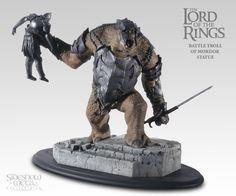 Lord of The Rings Battle Troll of Mordor Statue Sideshow Collectibles | eBay