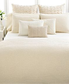 Vera Wang Bedding, Pair of Banded Standard Pillowcases