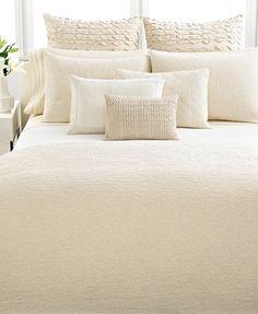 Vera Wang Bedding, Pair of Banded Standard Pillowcases