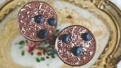 Sånt ein kan eta til både frukost og dessert! Og for gravide: som både dempar sjokoladesuget og er ei god kjelde til Omega 3.