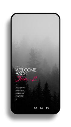 Android App Design, App Ui Design, Interface Design, App Design Inspiration, Typography Inspiration, Minimal Graphic Design, Nova Launcher, Youtube Design, Mobile Ui Design