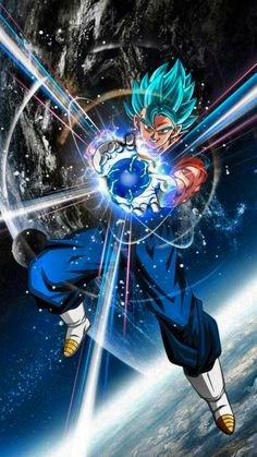 Vegito Ssj Blue, Gogeta And Vegito, Goku Wallpaper, Dragon Ball Image, Image Manga, Black Goku, Bmth, Son Goku, Ben 10