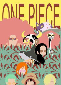 One Piece Film Z Minimalist Poster by MinimallyOnePiece.deviantart.com on @deviantART
