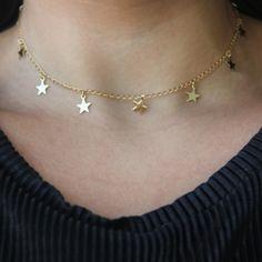 Colar Estrelinha Dourado - Superfluous - Moda & Design Shop.