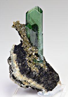 Vivianite | Huanuni mine, Dalence Province, Potosi Department, Bolivia