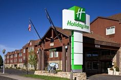 Holiday Inn West Yellowstone. This hotel has more perks than just rooms-- they also provide event catering and are home to an original executive Pullman car that you can walk through!  For reservations call: (406) 646-7365