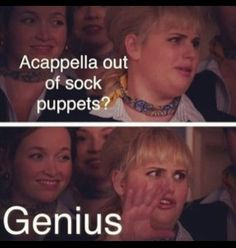 Fat Amy, love that ponytail! Fat Amy Quotes, Tv Quotes, Movie Quotes, Pitch Perfect Quotes, Pitch Perfect Movie, Funny Movies, Great Movies, Awesome Movies, Chick Flicks