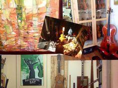 Espacios para trabajar: un taller de luthier en Madrid