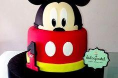 Torta de Mickey Mouse en Envigado, Dulcepastel.com